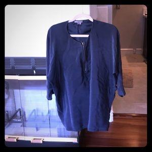 Silk Vince blouse